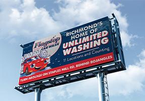 flagstop billboard